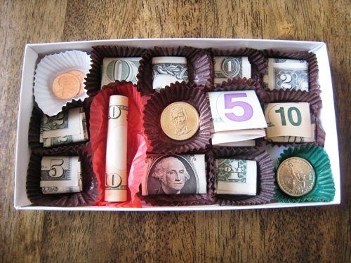 Money Box of Chocolates.