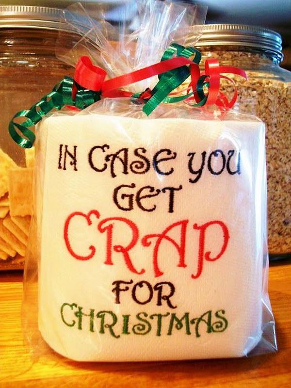 Hide a Little Cash in Christmas Gag Gift.