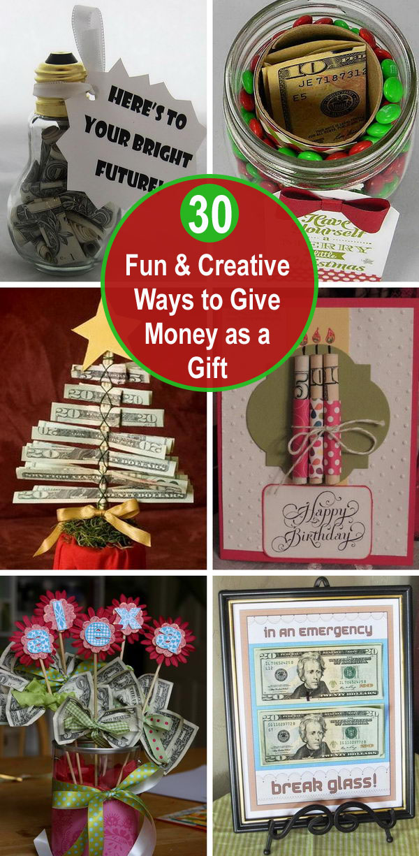 30 Fun and Creative Ways to Give Money as a Gift.