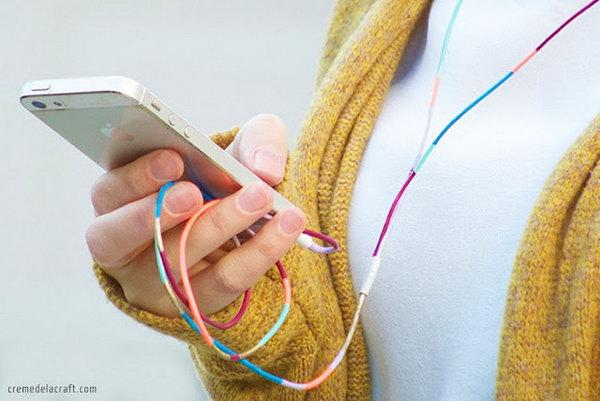 Add Glamour by Painting Variety of Nail Polish Colors onto Your Headphones.