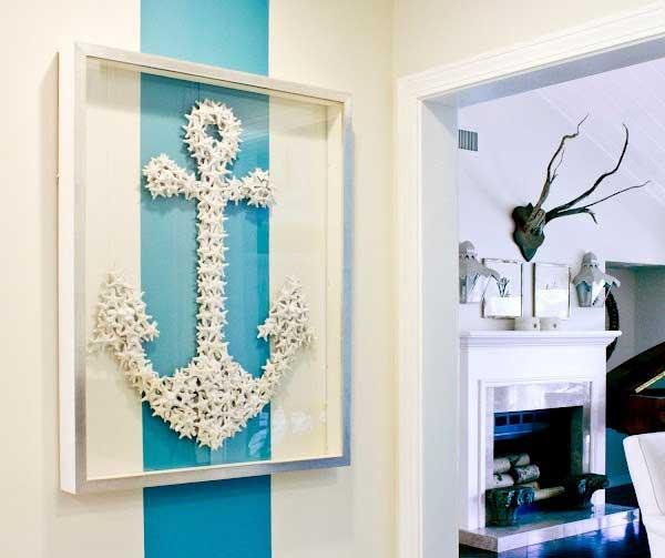 Starfish Anchor Wall Art