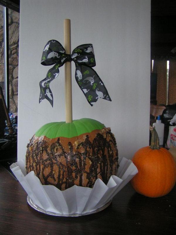 Caramel Apple Pumpkin.