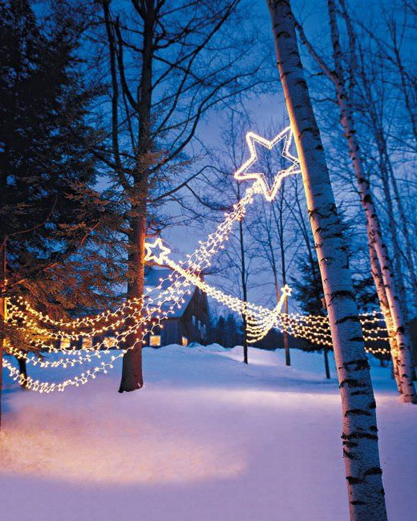 Shooting Star Light Displays