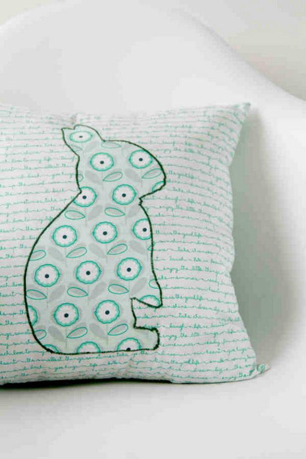 DIY Hoppy Pillow