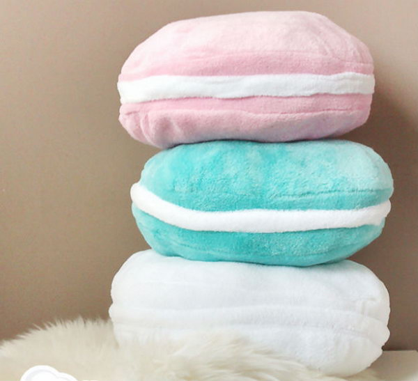 Macaron Pillows