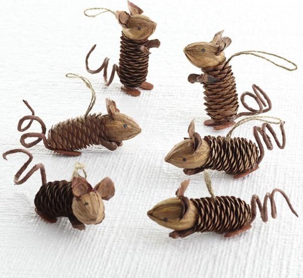 Mice Pinecone Friends.