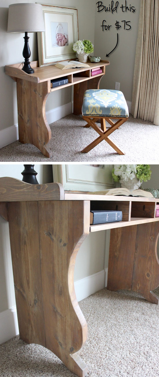 Pottery Barn Knock Off Desk Ideas