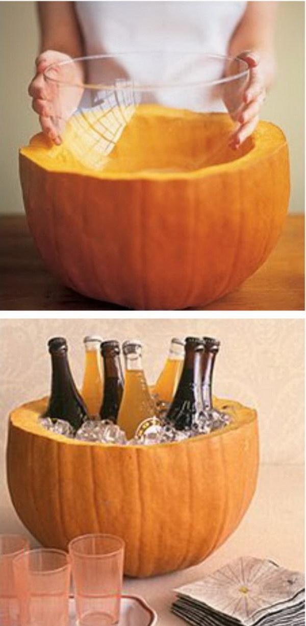 Pumpkin Party Cooler.
