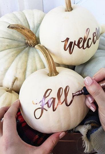 Handmade Pumpkin Sign.