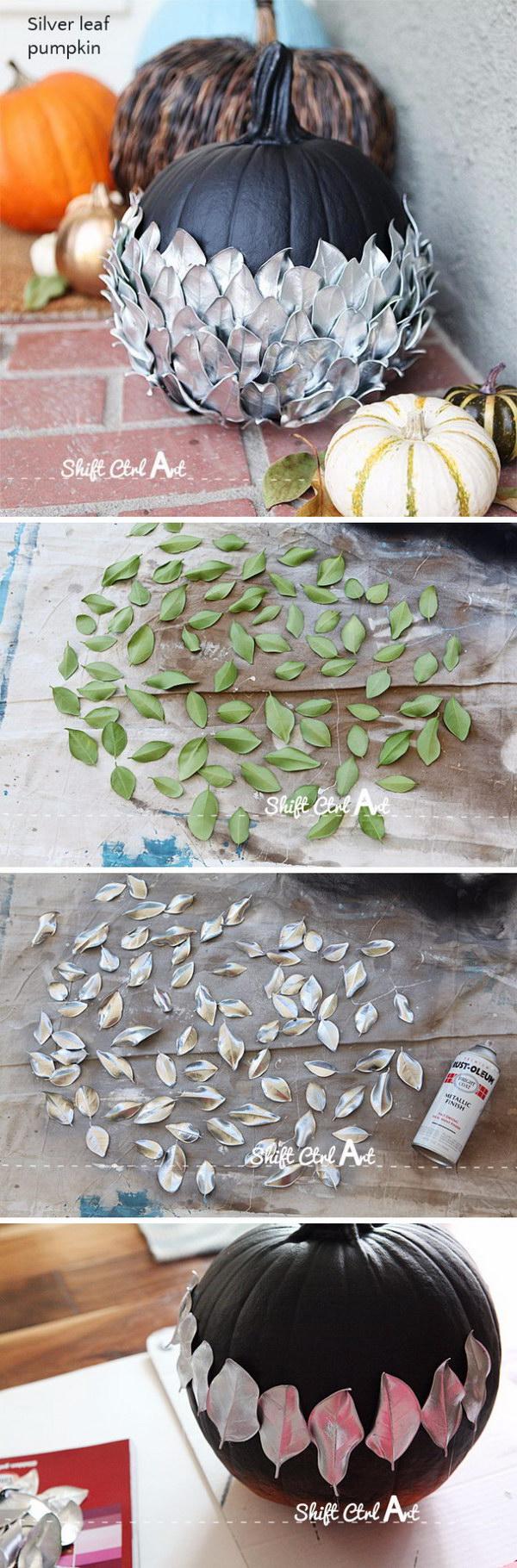 Silver Leaf Pumpkin.