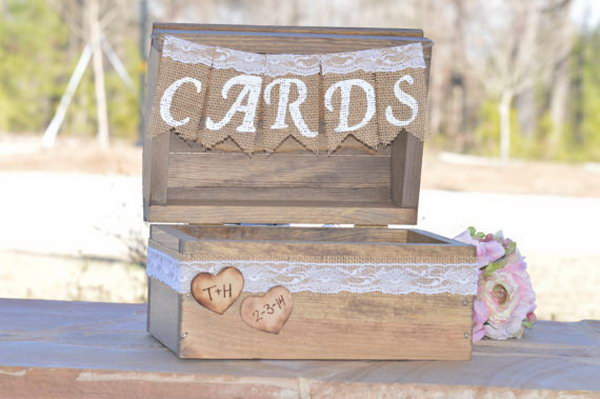 Chic Country Card Holder.