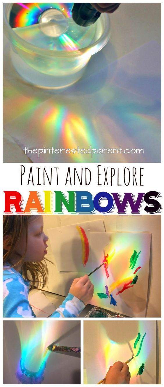 Make, Explore, Paint Rainbows: When Science and Art Come Together.