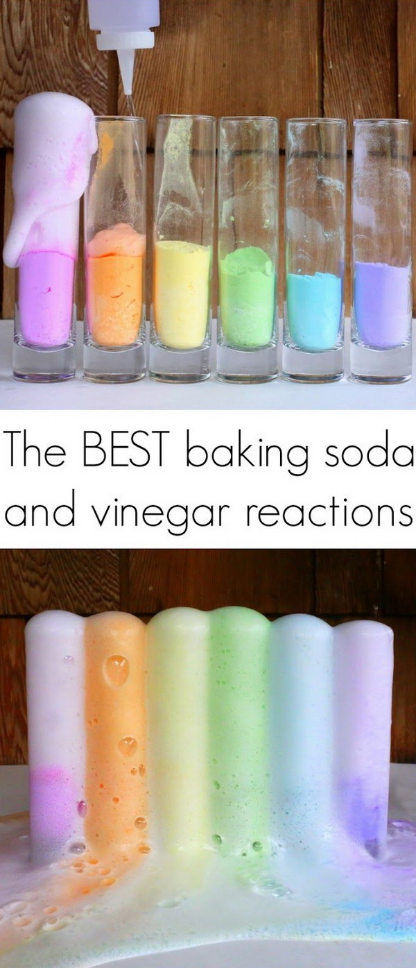 Magic Reaction for the Best Baking Soda and Vinegar.