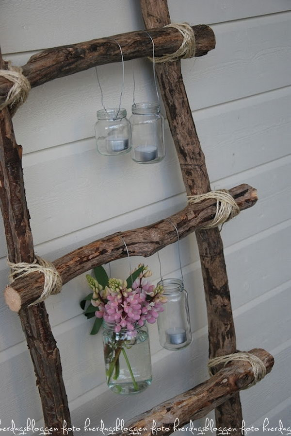 Shabby Ladder Decoration! Get the tutorial