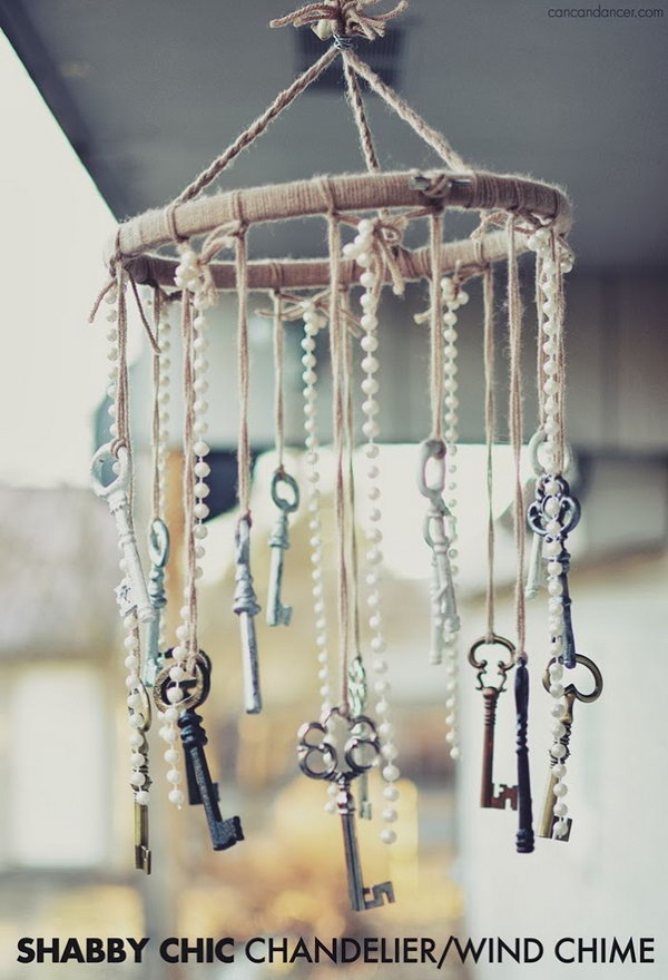 Shabby Chic Chandelier. Get the full direction