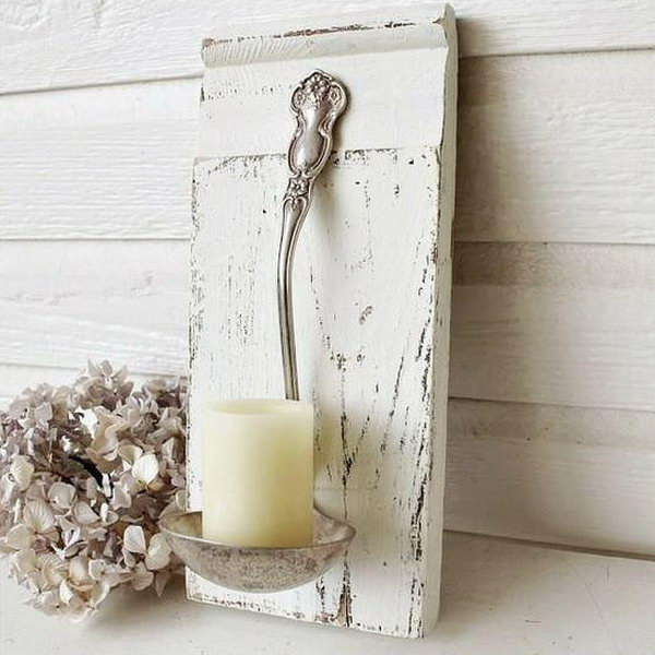 DIY Candle Light Holders. See the tutorial