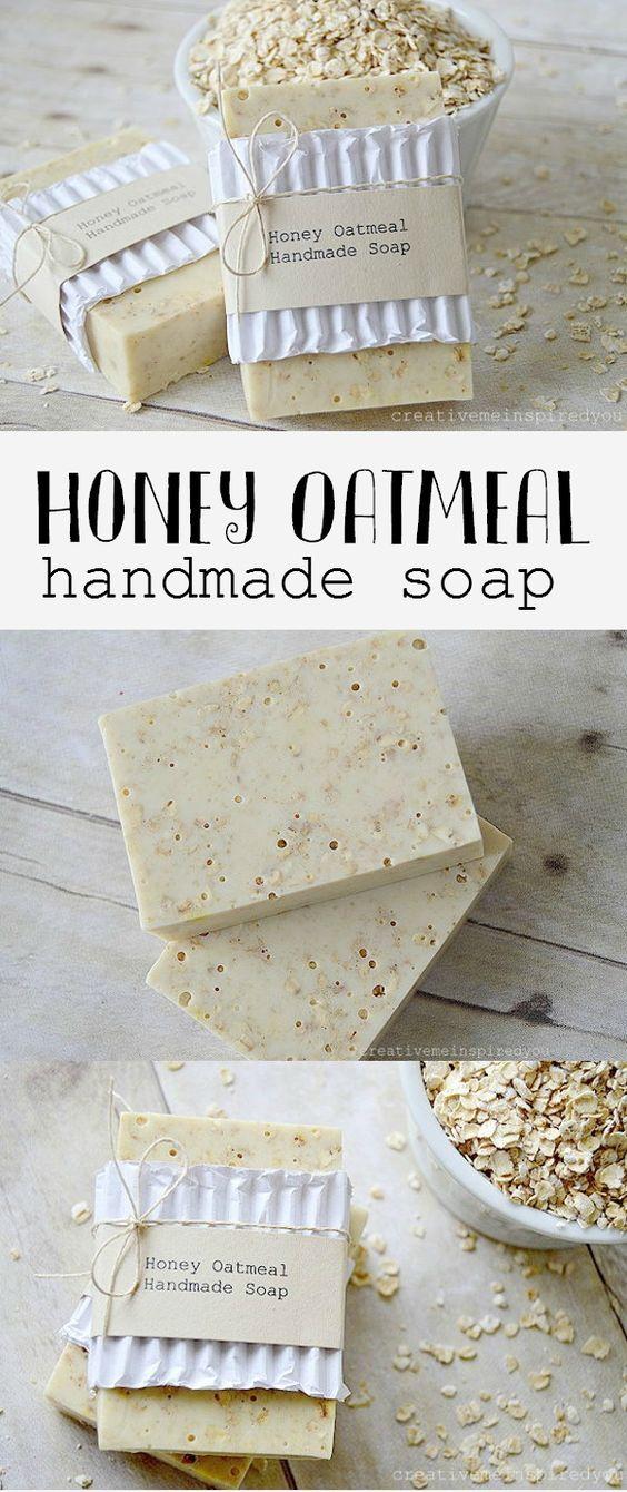 Honey Oatmeal Handmade Soap.