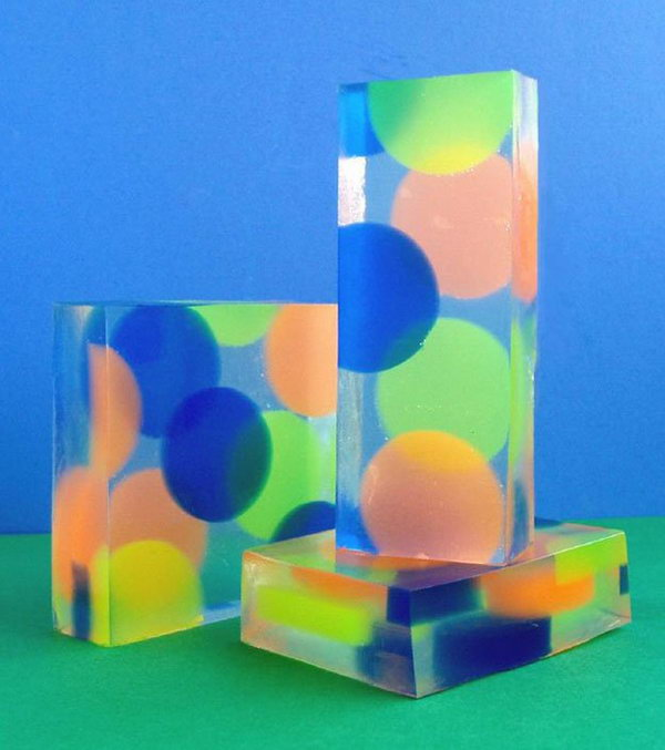 Colorful Dotted Handmade Soap