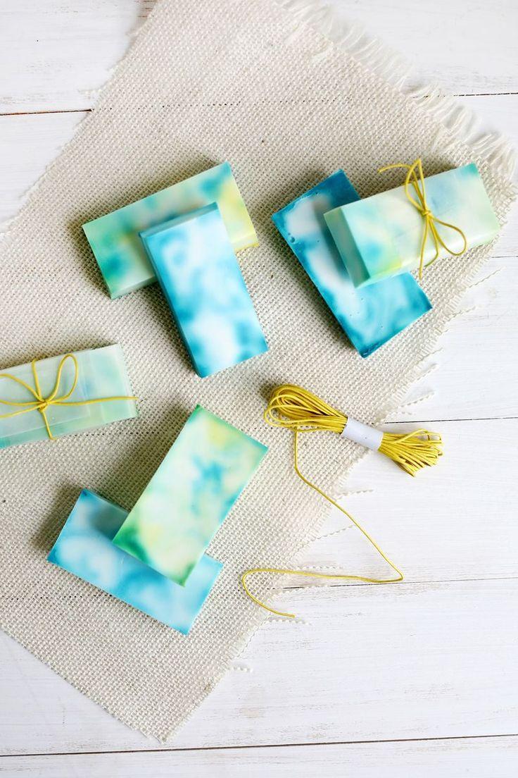 DIY Easy Tie Dye Soap Tutorial for Beginners