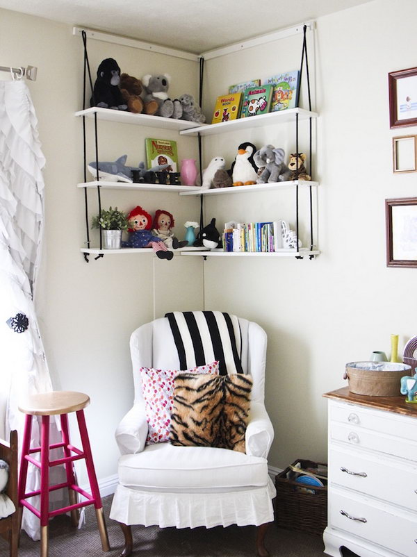 Storage in Every Nook and Cranny.