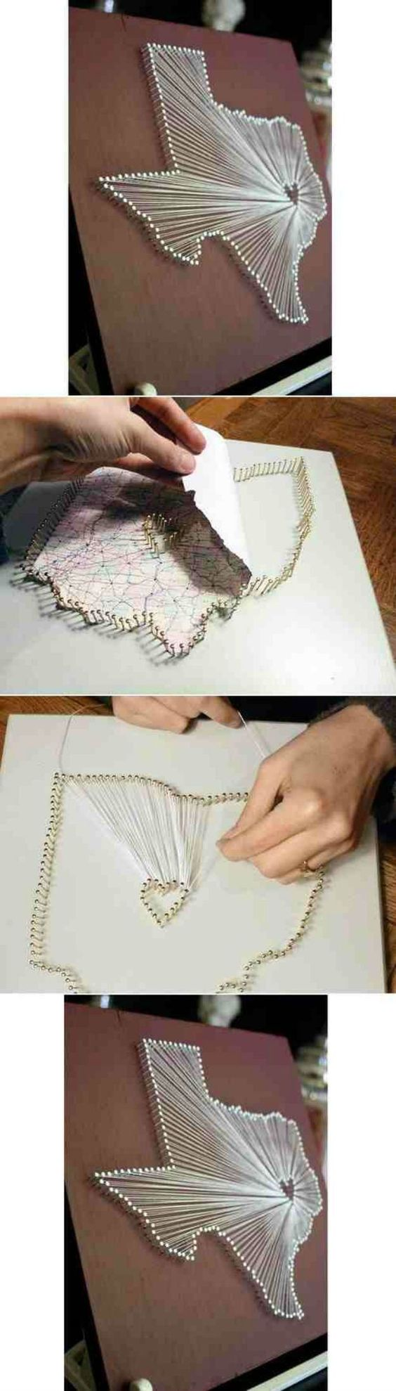 35 DIY String Art Ideas & Tutorials for Your Home Decoration ...