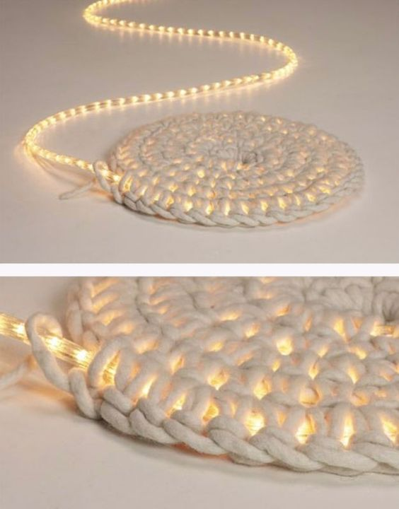 DIY LED Carpet.