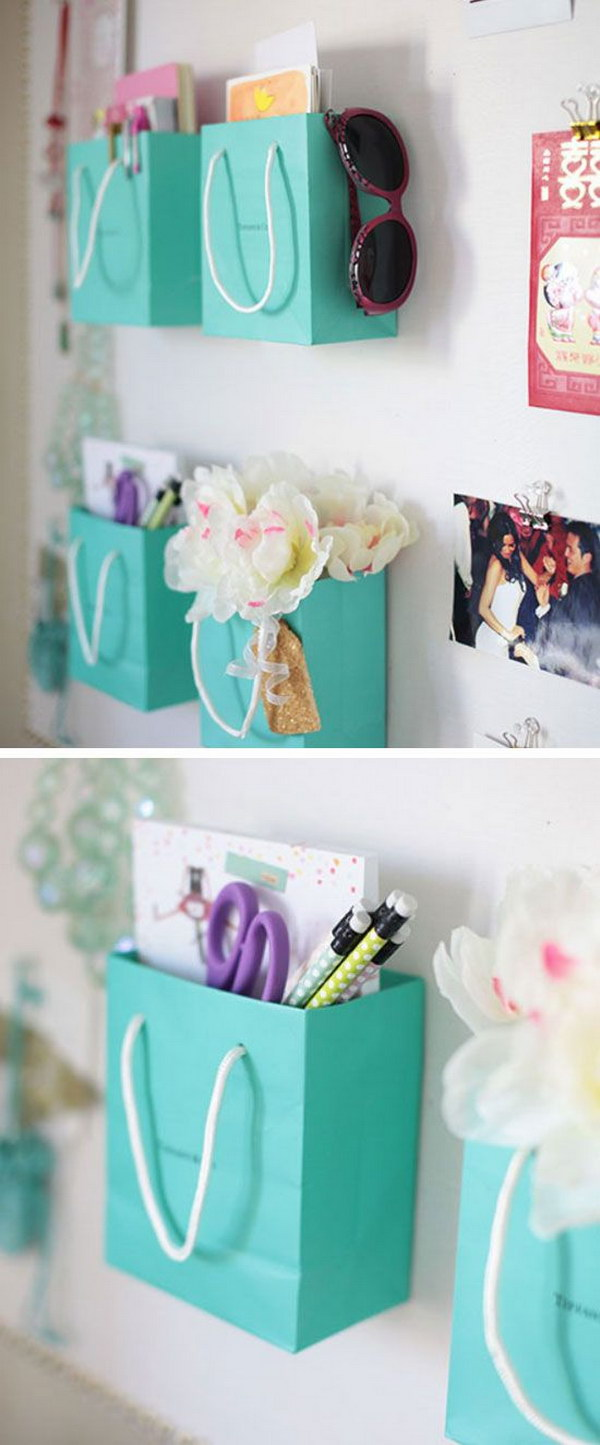 Shopping Bag Wall Organizers