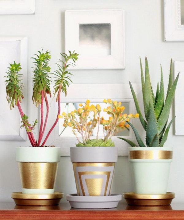 Modern Gold Pot. See more