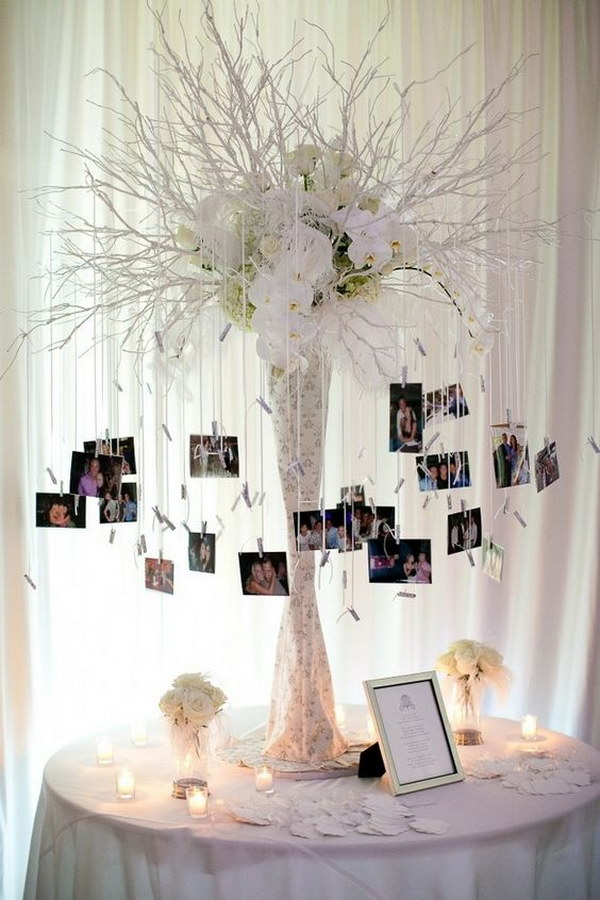 DIY Wedding Tree Centerpieces With Photos.