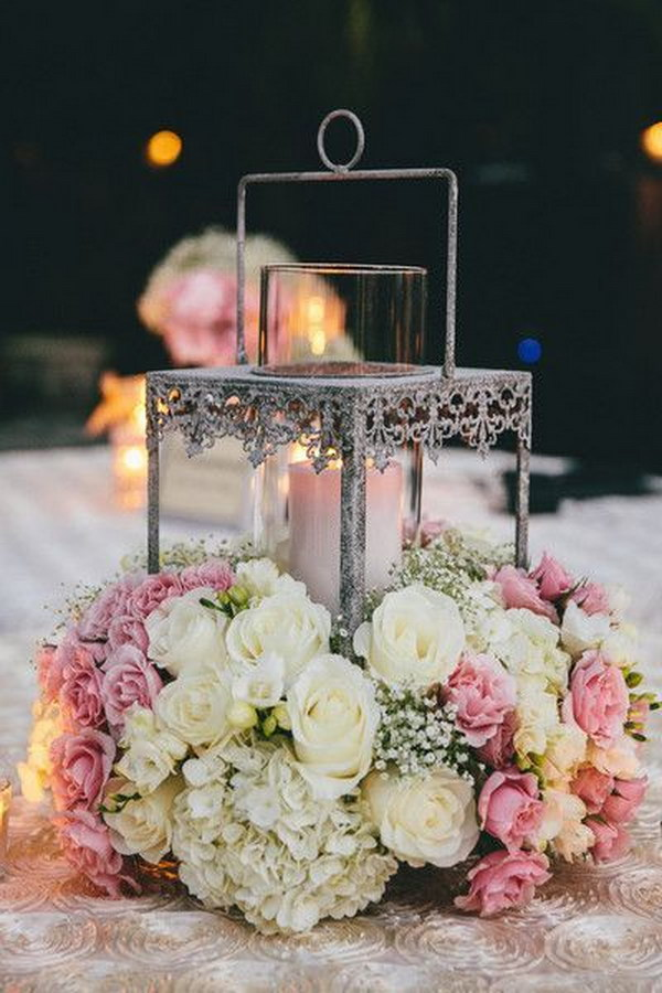 Awesome Lantern Wedding Centerpiece .