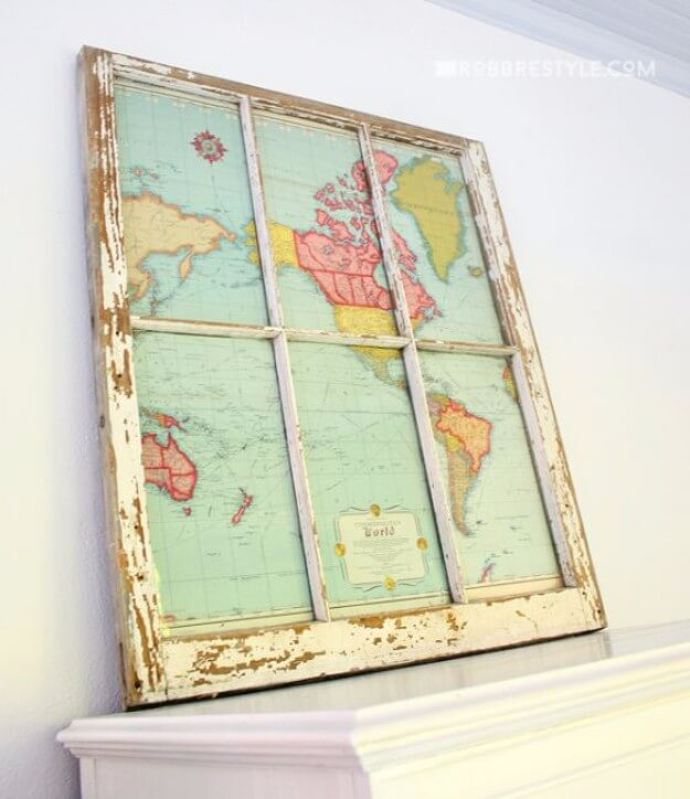 Turn Your Window to a World Map.