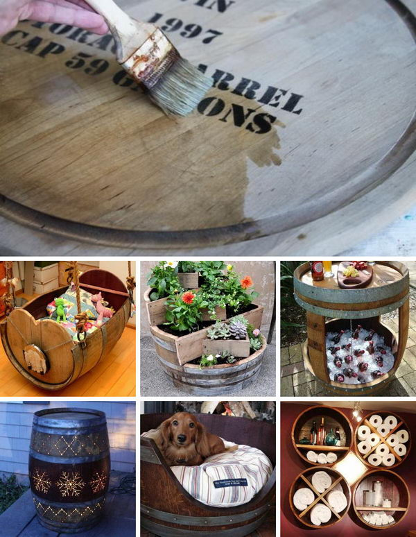 Creative Ways of Recycling Old Wine Barrels.