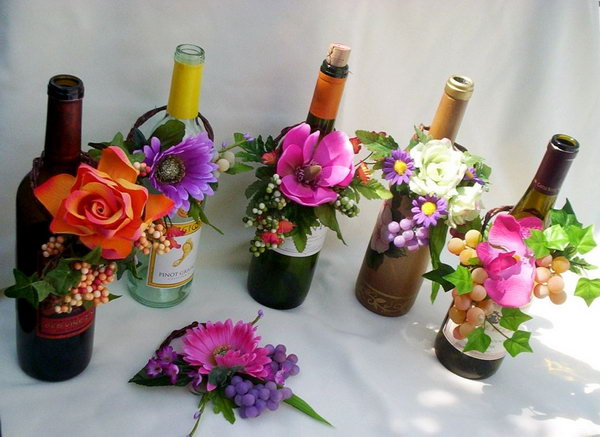 35 Awesome Wine Bottle Centerpieces For Any Table 2018