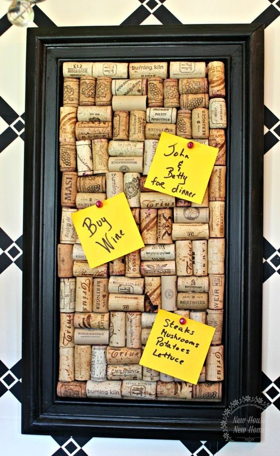 35 Awesome DIY Ideas and Tutorials Using Wine Corks 2017