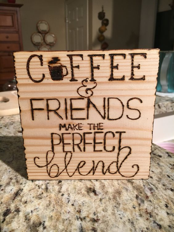 Coffee Friends Make The Perfect Blend