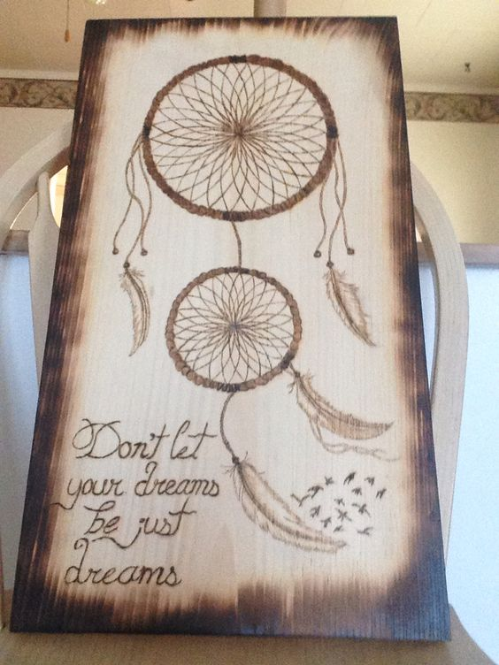 Cool Wood Burning Art