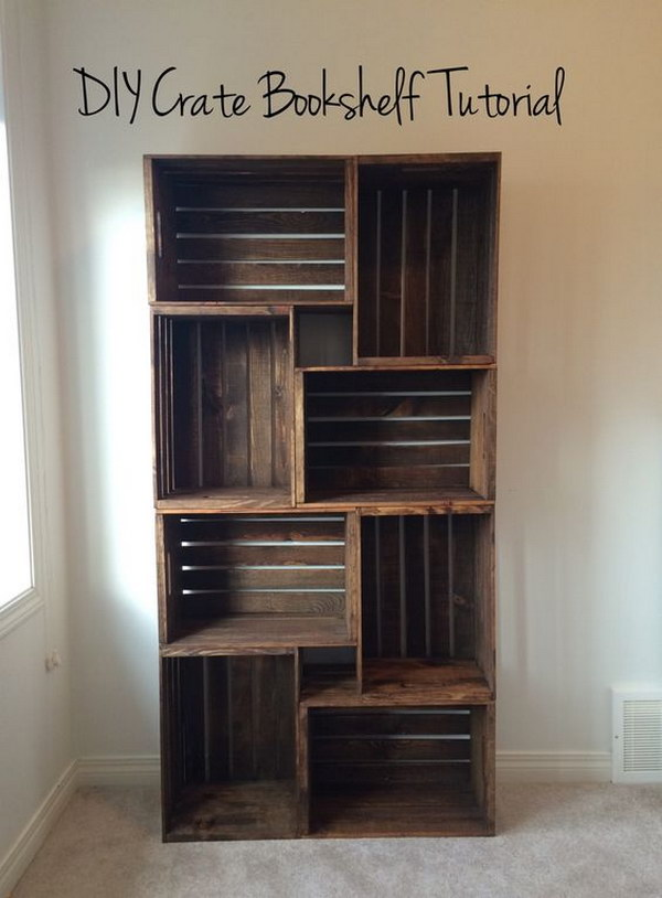 DIY Create Bookshelf