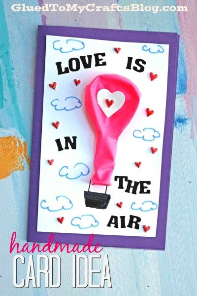 Hot Air Balloon DIY Card.