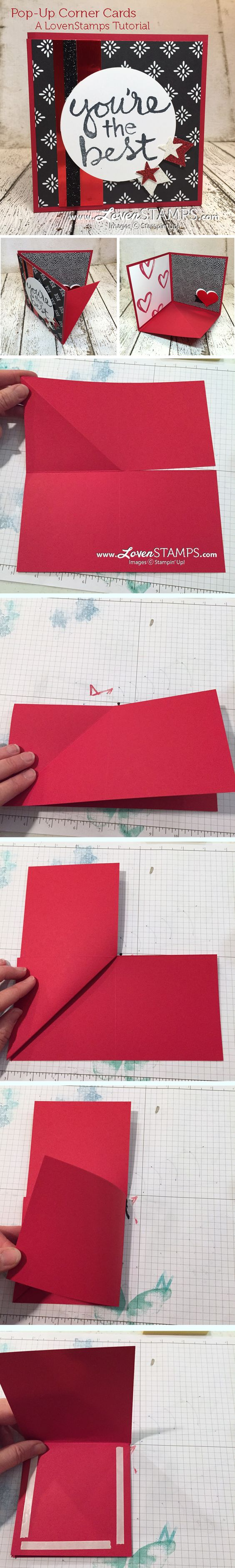 DIY Pop-Up Corner Card.