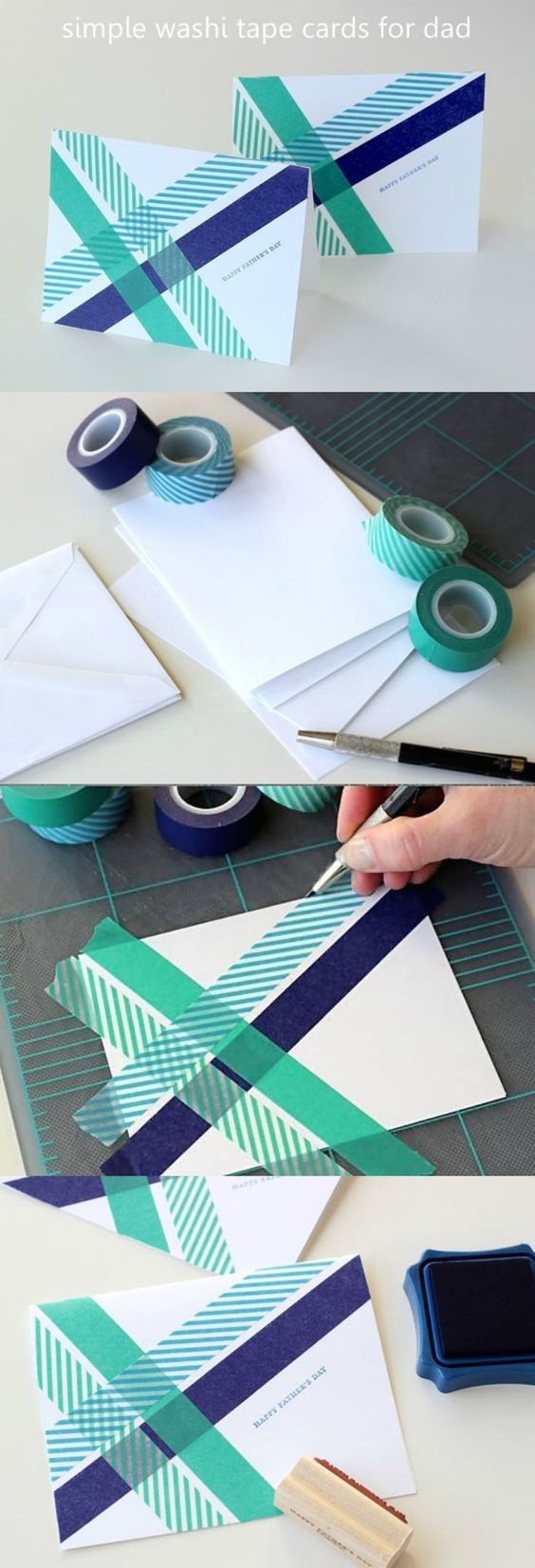 DIY Washi Tape Card.