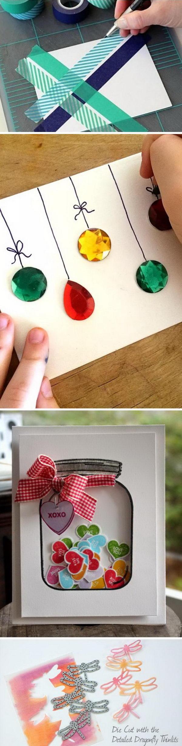 Handmade Card Ideas and Tutorials.