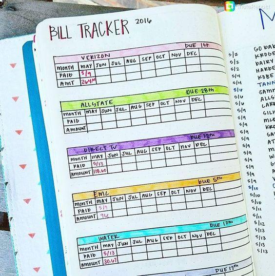 Bill Tracker.