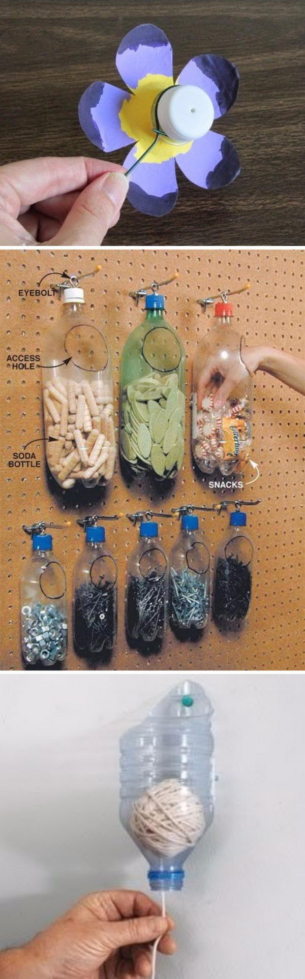 Creative Ways To Recycle Old Plastic Bottles.
