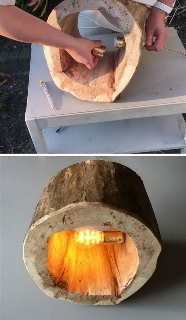 Stump Floor Lamp.
