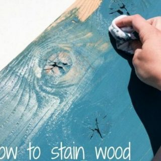25 DIY Ideas & Tutorials for Using Wood Stains