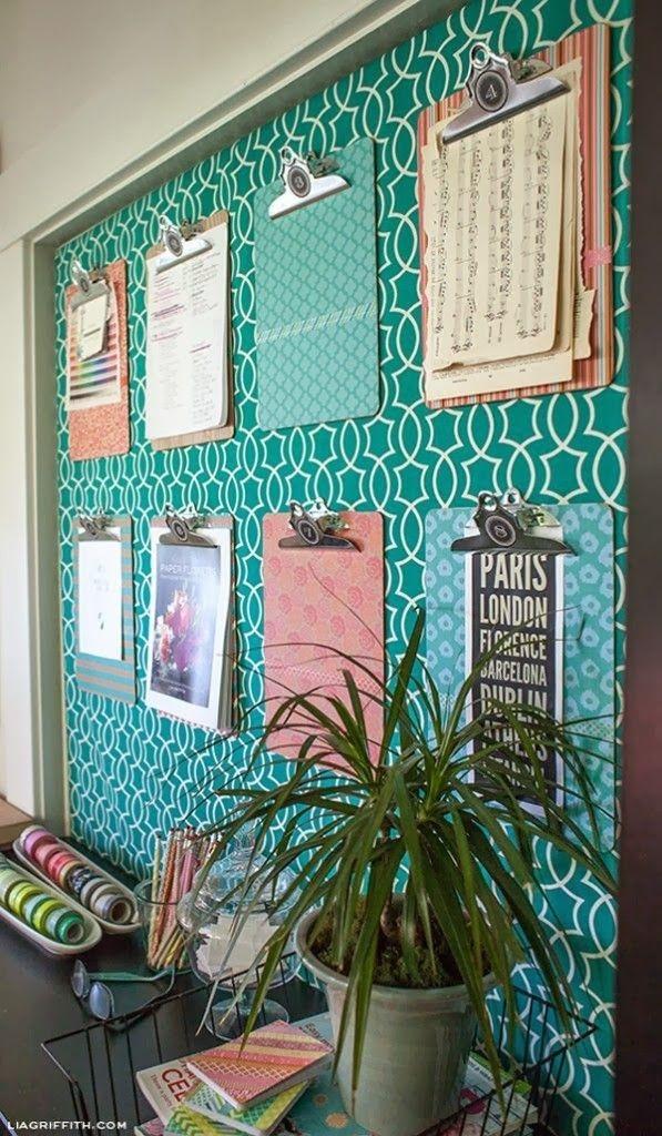 Clipboard Style Bulletin Board.