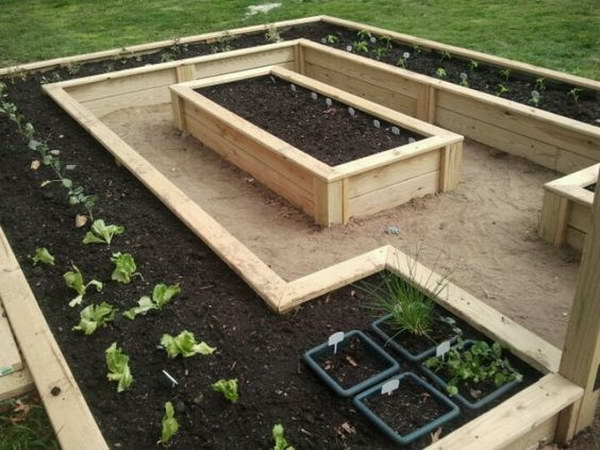 So Practical Yet Very Pretty Raised Bed Garden.