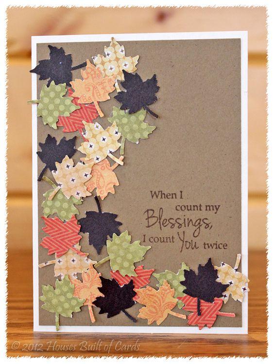Beautiful Fall Card.