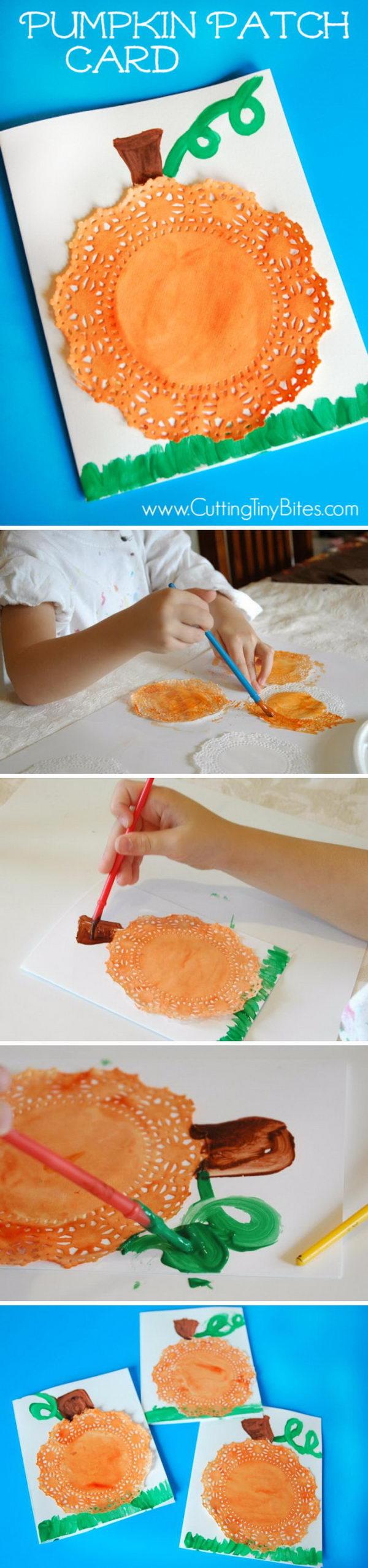 Pumpkin Patch Cards.