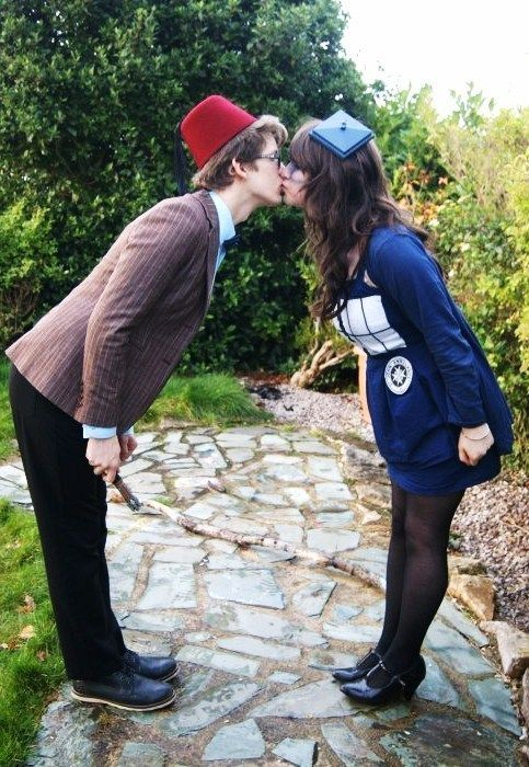 Dr. Who Couples Costume.